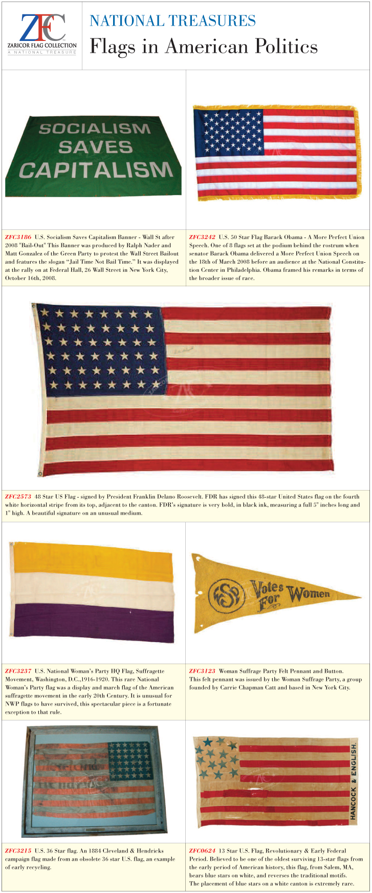 Zfc National Treasures Flags In American Politics