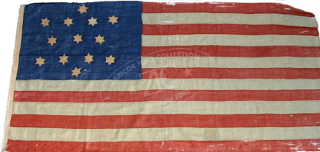 Image result for us flag with six pointed stars