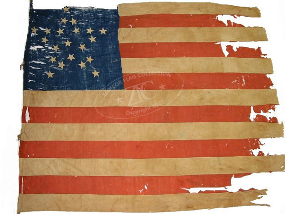 Zfc National Treasures The Flag 1818 To The Civil War